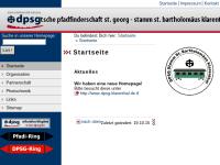 Deutsche Pfadfinderschaft Sankt Georg, Saarbrücken-Klarenthal - Scout Group Saint Bartholomäus
