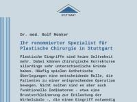 Dr. med. Rolf Münker - Facharzt für Plastische und Ästhetische Chirurgie