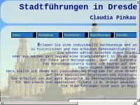 Stadtführung und Rundfahrten Dresden - Claudia Pinkau