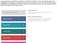 Medizinische e-Learningmodule, Universität Bern