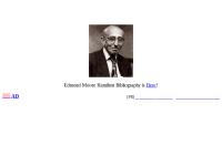 Edmond Moore Hamilton Bibliography