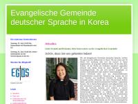 Evangelische Gemeinde deutscher Sprache in Korea