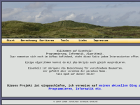Eisenholz - Algorithmen in C++, PHP und Prolog