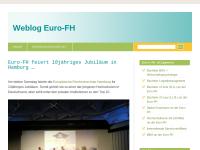 WebBlog zum Fernstudium an der Euro-FH