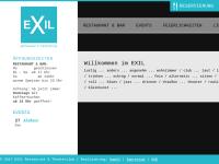EXIL - Trinken & Essen im Schauspielhaus