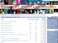 Fantasy FilmFest Archiv