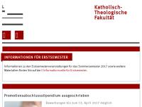 Katholisch-Theologische Fakultät der Westfälischen Wilhelms-Universität Münster