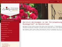 """Ferienwohnung """"Zum Rosengarten"""""""