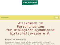 Forschungsring für Biologisch-Dynamische Wirtschaftsweise