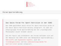 Swiss Forum for Sport Nutrition (SFSN)