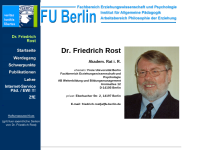 Rost, Dr. Friedrich