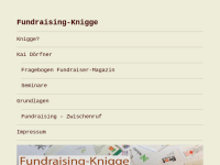 Fundraising-Knigge