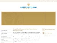 Gabler-Saliter Bankgeschäft KG