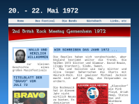 2. British Rock Meeting Germersheim 1972