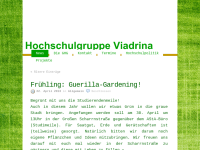 Grüne Hochschulgruppe Viadrina