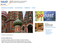 Go East - Studium, Forschung, Praktikum