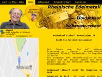 Goldankauf Alsdorf