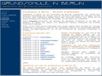 Grundschule in Berlin - Berliner Grundschulen