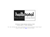 Klamt Andrzej, Halbtotal Filmproduktion