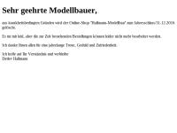 Hallmann-Modellbau, Detlev Hallmann