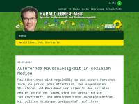 Ebner, Harald (MdB)