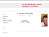 Rapp-Storrier, Dr. Sabine