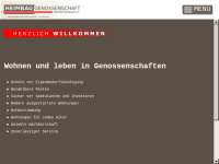 Heimbaugenossenschaft Unterfranken e.G.