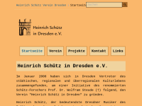 Heinrich Schütz in Dresden e.V.