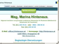Mag. Marina Hintenaus