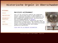 Historische Orgeln in Oberschwaben e. V.