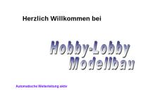 Hobby-Lobby Modellbau, G. Petrich