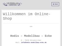 Hodis-Modellbau-Ecke, Wolfram Hodapp