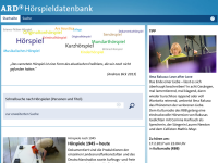 ARD-Hörspieldatenbank