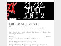 Holzrock OpenAir