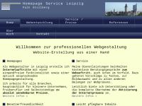 Homepage Service Leipzig