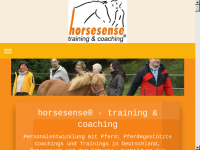 Horsesense - Training und Coaching