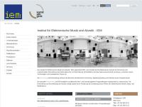 Institut für Elektronische Musik und Akustik (IEM)