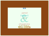 pencil&chopsticks