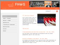 FH Würzburg-Schweinfurt - IT Service Center