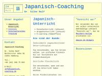 Japanisch-Coaching