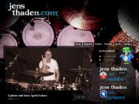 Jens Thaden, Schlagzeuger des Progressive-Rock