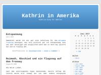 Kathrin in Amerika