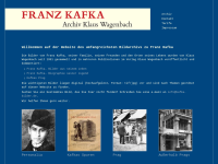 Franz Kafka Archiv Klaus Wagenbach