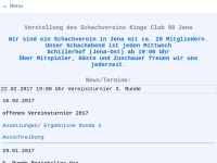 Schachverein Kings Club 98 e.V. Jena