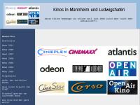 Kinos in Mannheim und Ludwigshafen