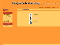 Klangfarbe Musikverlag, Inh. Beate Hassinger