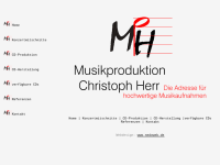Musikproduktion Christoph Herr