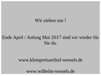 Kleinpreisartikel-Wessels