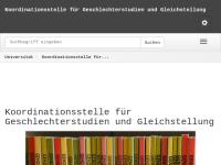 Koordinationsstelle für Frauen- und Geschlechterforschung der Karl-Franzens-Universität Gr