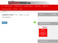 Mecklenburg-Vorpommern-Ticket der Bahn - laenderticket.de